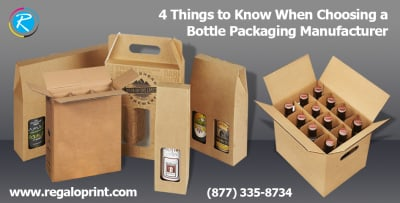 4 Things to Know When Choosing a Bottle Packaging Manufacturer