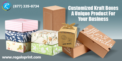 Customized Kraft Boxes - A Unique Product for Your Business